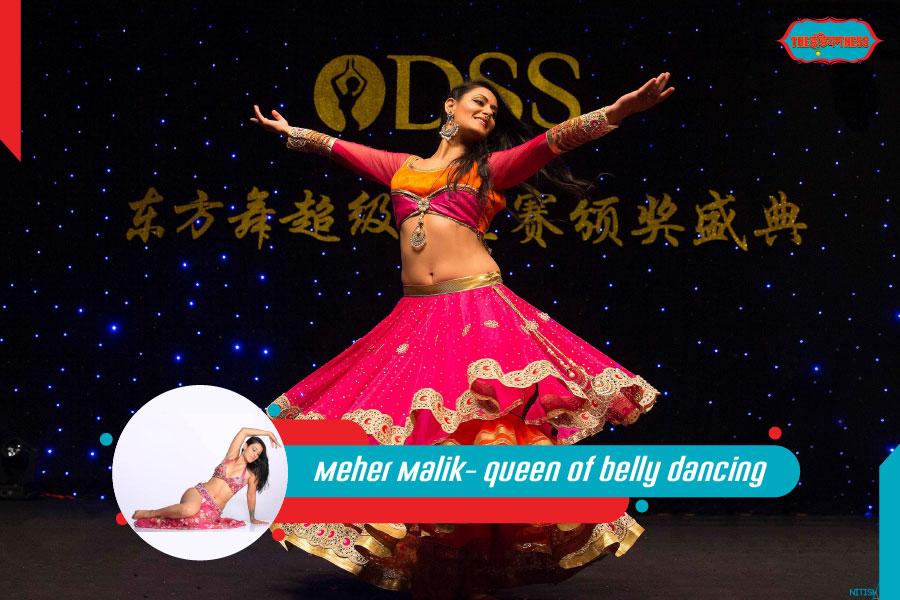 meher malik,belly dance,belly queen