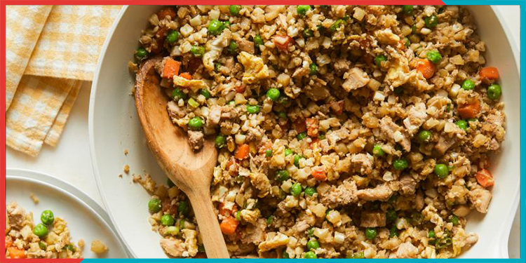 cauliflower fried rice recipe,indianness