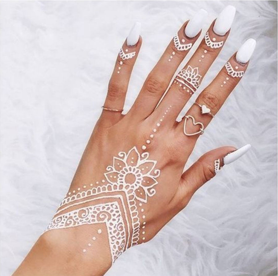 white henna,indianness