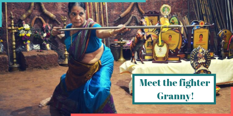 meenakshi amma,kalaripayattu,keral,fighter granny,women empowerment,india,indianness