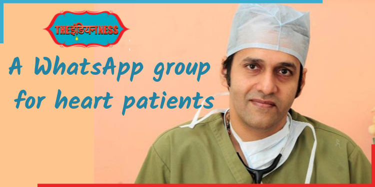 Dr. Padmanabha Kamath,cardiologist,whatsapp group,heart ilnessess,india,indianness