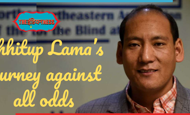 Chhitup Lama's journey,HEAD,ngo for blind,schools for blind,india,indianness