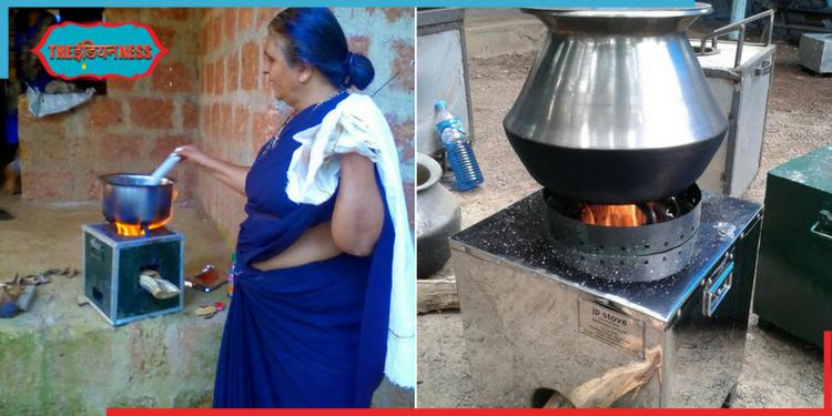 ecofriendly gas stove,portable gas stove,v jayaprakash,shabaash india,india,indianness