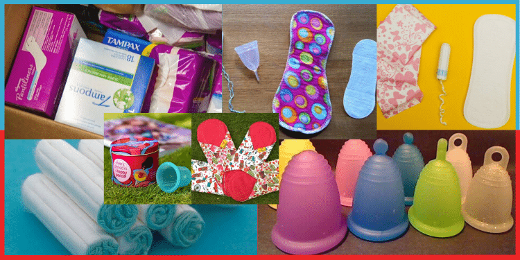 menstrual hygiene products
