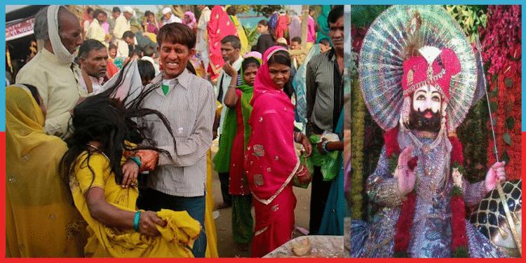 Devji Maharaj Mandir,Bhoot Mela