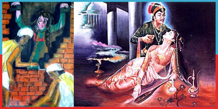 Salim and Anarkali