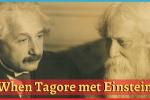 conversation of Tagore and Einstein