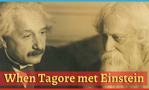 conversation of Tagore and Einstein