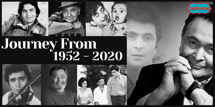 From Chocolate Boy Chintu to Bollywood Villian – Fascinating Journey of Rishi Kapoor