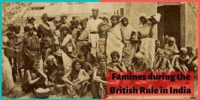 famines in india
