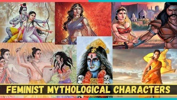 Feminist mythological characters