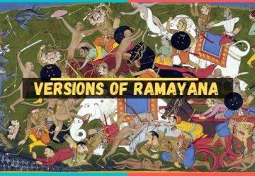 versions of ramayana