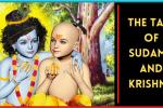 Sudama and Krishna