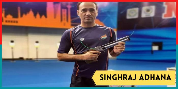 Tokyo Paralympics 2020,Singhraj Adhana